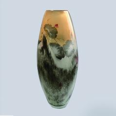 中国工艺美术大师 张广庆内画--十里荷香 精致 手绘