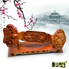 非物质文化遗产桃木雕刻传承人王来新--福寿如意
